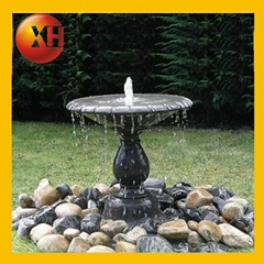 Natural outdoor stone garden water fountain for home decoration