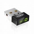 2.4GHz mini wireless adapter with ralink5370 usb wifi dongle  2