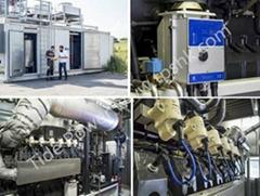 Liebherr biogas generator set G9512