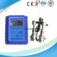 Clamp on Transducer Ultrasonic Flow Meter
