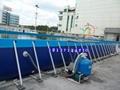 支架水池配滑梯 大型廣場水上樂