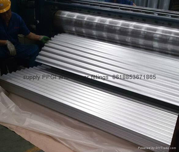 Prepainted roofing sheets 4