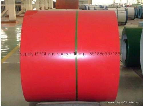 High Quality Prepainted Ga  anized Steel Coils 1