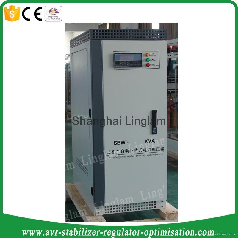 3 phase 50kva industrial ac voltage stabilizer 1