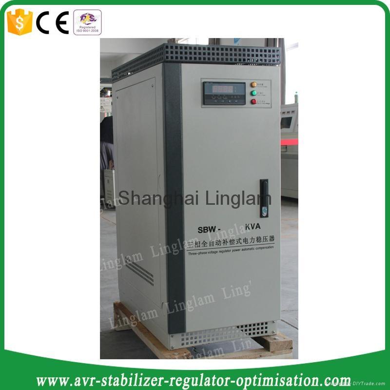 3 phase 50kva industrial ac voltage stabilizer 2