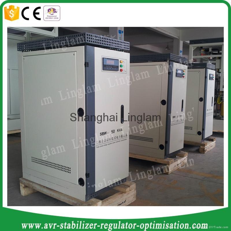 3 phase 50kva industrial ac voltage stabilizer 5