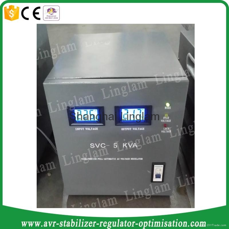Single Phase 5kva Voltage Regulator 220v Svc 5kva