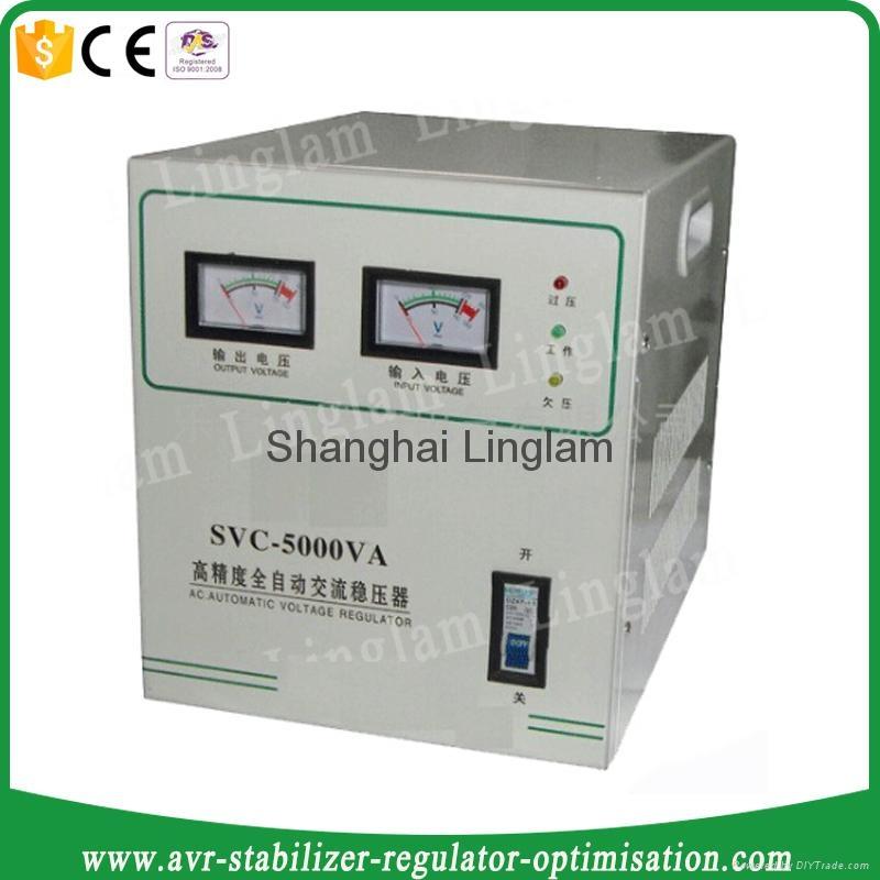 Single Phase 5kva Voltage Regulator 220v Svc 5kva