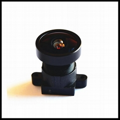 """2.85mm 138 degree wide angle 4mp cctv lens mount m12 for 1/2.7"""" security camera"""