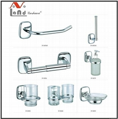 2016 Zinc  Alloy Material Towel Bar Robe Hook Bathroom Accessories Set
