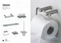304 stainless steel  Material Towel Bar, Robe Hook, Bathroom Accessories Set  2