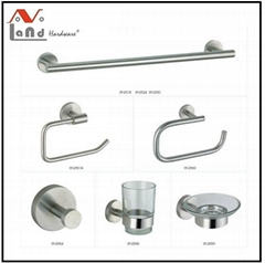 304 stainless steel  Material Towel Bar, Robe Hook, Bathroom Accessories Set