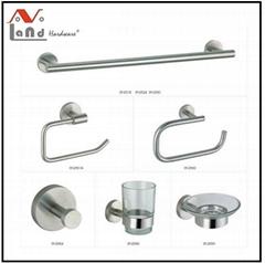 304 stainless steel  Material Towel Bar, Robe Hook, Bathroom Accessories Set