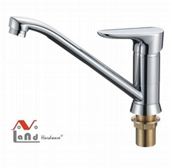 2016 New Design High Quality H59 Brass  Kitchen Faucet Mixer with Weight 808g