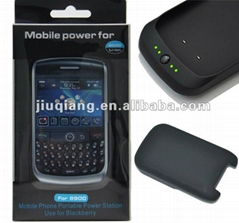 External Battery back battery for Blackberry 8900 Battery Case
