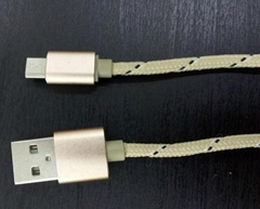 Micro USB data cable for Android mobile phone