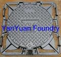 - Double Triangular Heavy and Medium Duty Manhole Cover and Frame