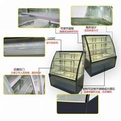 新品促销 HD-1.2A5F弧形蛋糕柜 安德利冷柜