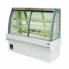 全新设计 OD-1.2T2F欧式前开门蛋糕柜
