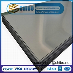 Pure Molybdenum Sheet for Sapphire Crystal