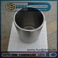99.95% pure molybdenum(moly) crucible