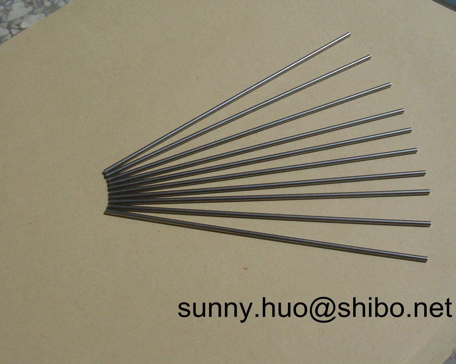 pure tungsten rod in electric vacuum industry 4