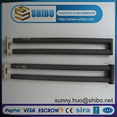 U type SiC heating element, SiC heater, SiC tube at best price