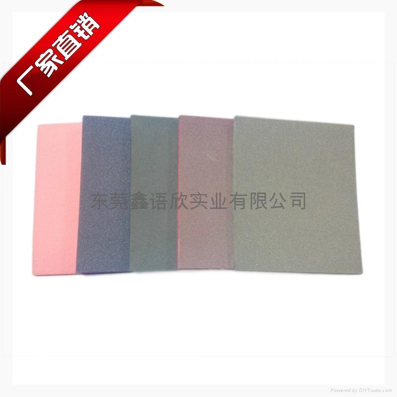 鑫语欣产地货源电子产品表面处理海绵砂 2