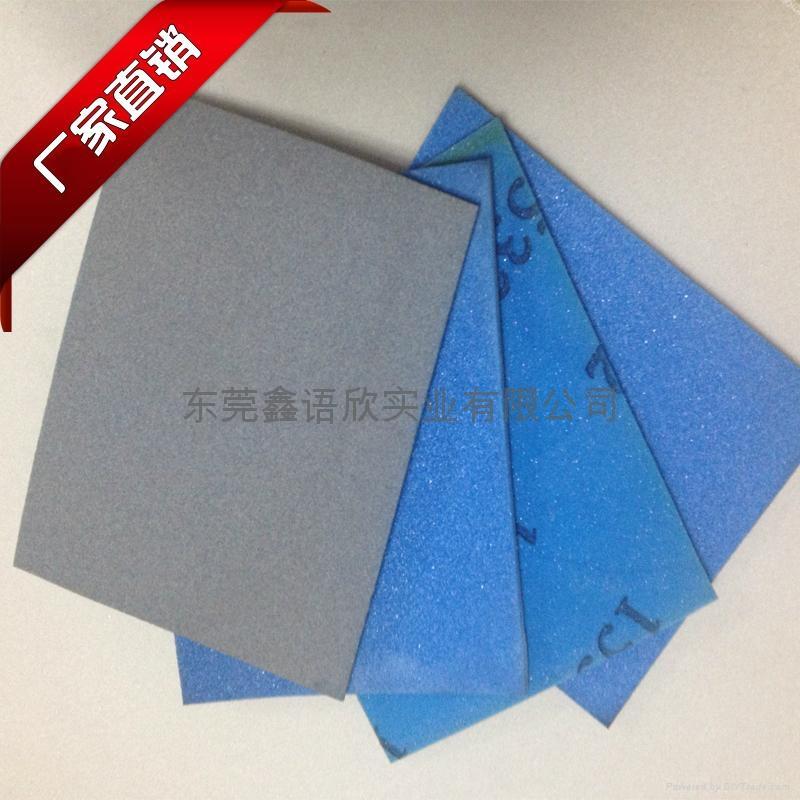 鑫语欣产地货源电子产品表面处理海绵砂 3
