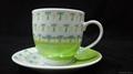 China Factory Wholesale Hot Sale Porcelain Cup&Saucer 4