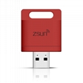 ZSUN Wireless Wifi USB Smart Card Reader WLAN New Arrival Mobile Phone Extend 1
