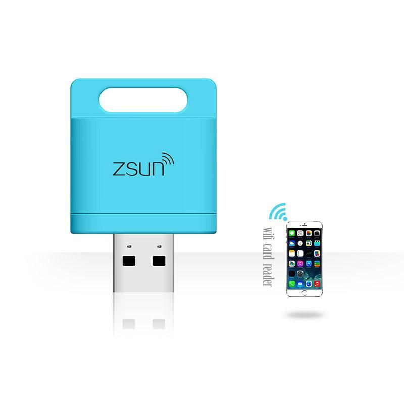 ZSUN Wireless Wifi USB Smart Card Reader WLAN New Arrival Mobile Phone Extend 3