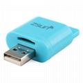ZSUN Wireless Wifi USB Smart Card Reader WLAN New Arrival Mobile Phone Extend 5