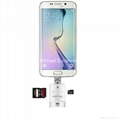 iReader 3 in 1 i-Flash Drive USB Micro SD SDHC TF Card Reader Writer for iPhone  5