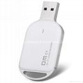 DM USB Wirless Wifi card reader Mini TF Card Reader for iOS Android Windows  4