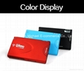 Wireless WIFI Card Reader 3 Port USB Hub HD 3G Router 1500mAh External Battery 3