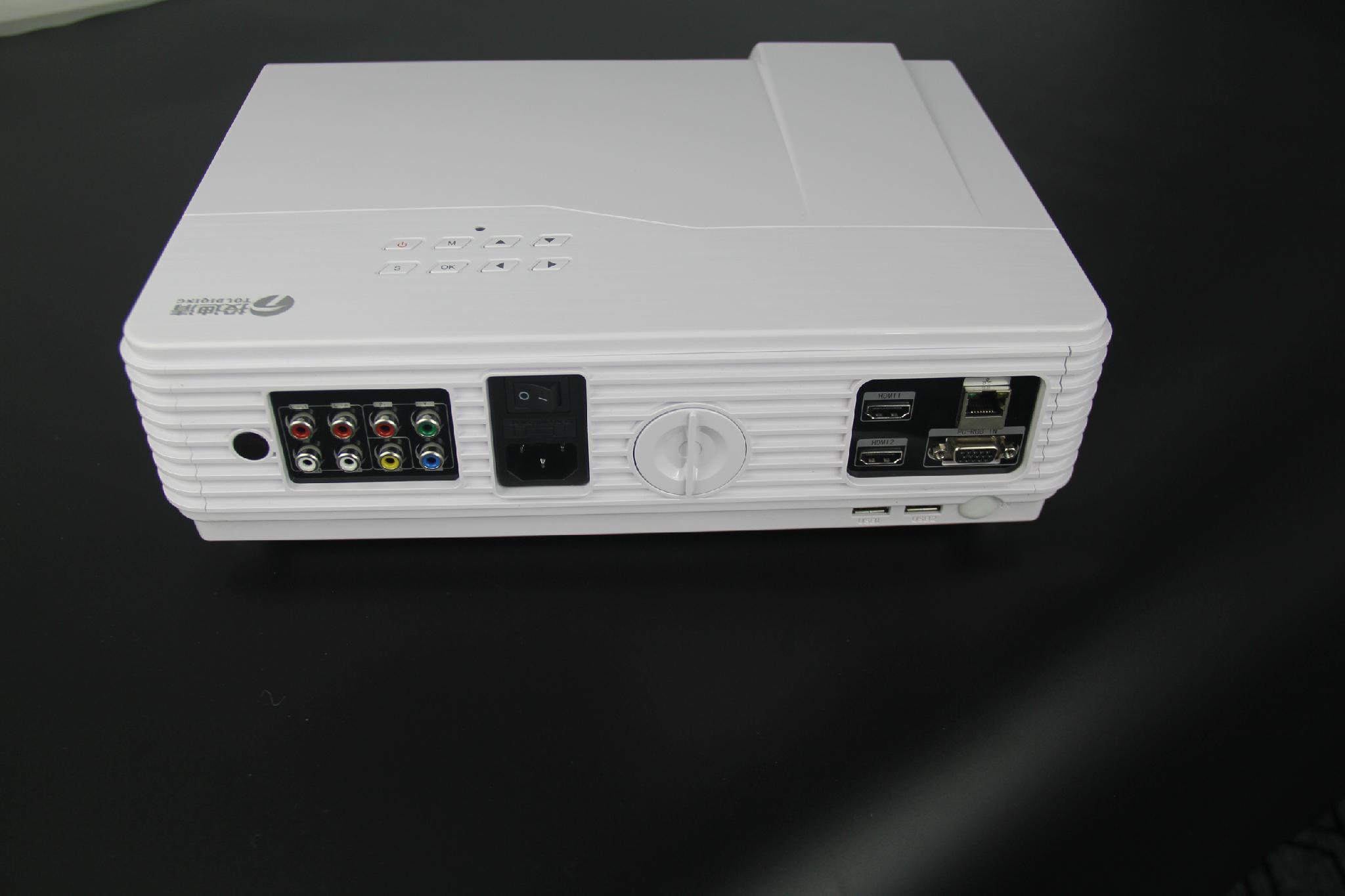 投迪清TDQ-90高清投影儀商務辦公 2