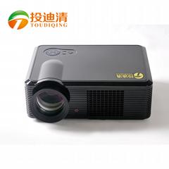 投迪清TDQ-18投影儀教學會議 高清投影機