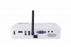 投迪清TDQ-58家用高清投影機3D無屏電視1080p
