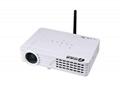 投迪清TDQ-58家用高清投影機3D無屏電視1080p 3