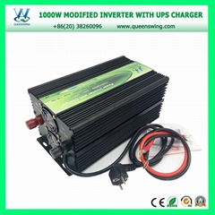 1000W DC12V AC220V Solar Power Inverter with UPS Charger (QW-M1000UPS)