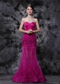 Pink Gorgeous Sweetheart Sheath A-Line