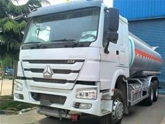 SINOTRUK HOWO Fuel Tanker Truck 20000L Oil Tank Truck