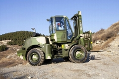 CPCY50 All Terrain Forklift 5 tons