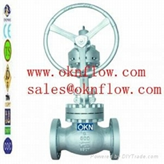 7  Carbon steel flange RF RTJ globe valve