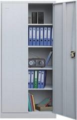 Key lock metal 4 shelves filing cabinet adjustable steel cupboard locker