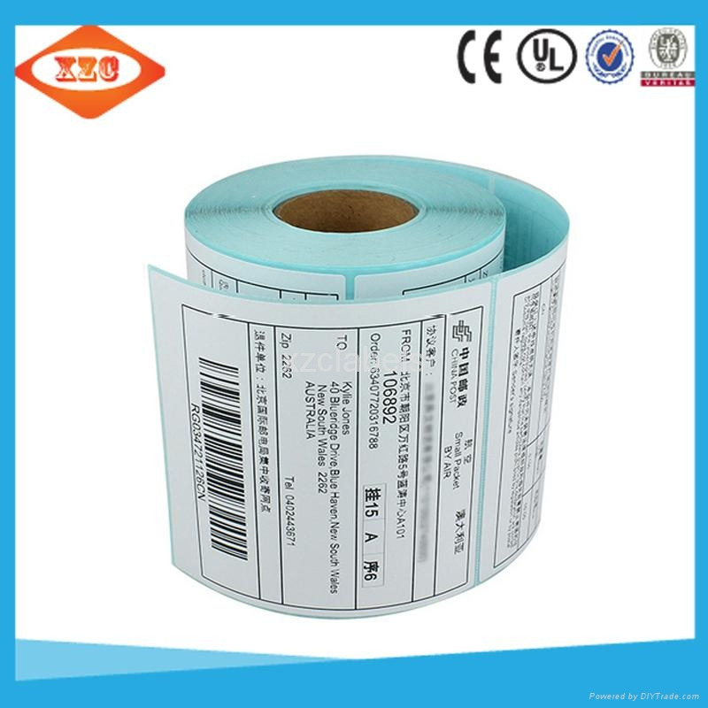 4x6 direct thermal labels ECO thermal paper shipping label roll of 250 sheets 5