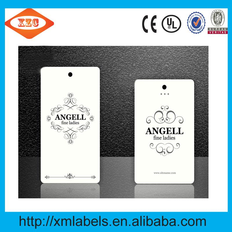 Custom tags both men and women clothing brand clothing label printing 2