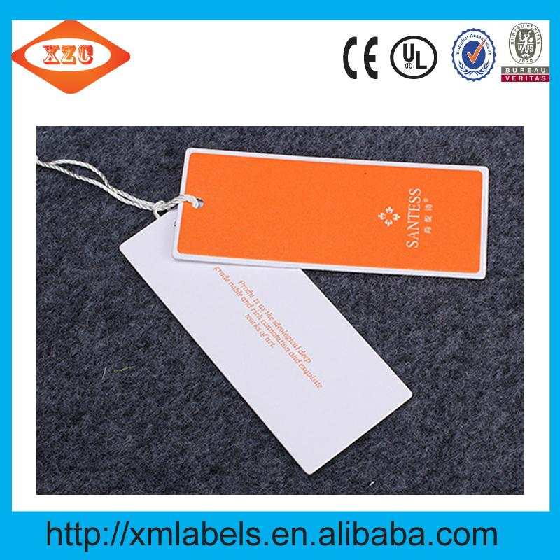 Custom tags both men and women clothing brand clothing label printing 3