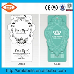 Custom tags both men and women clothing brand clothing label printing